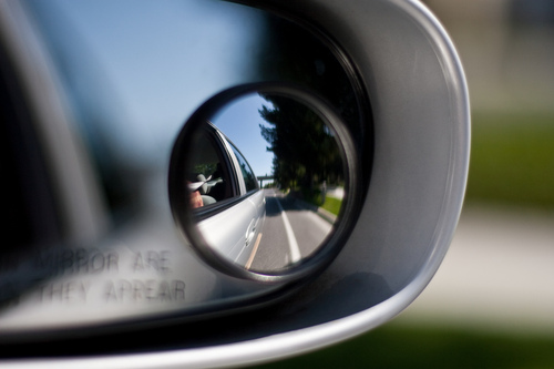 how to check your blind spot