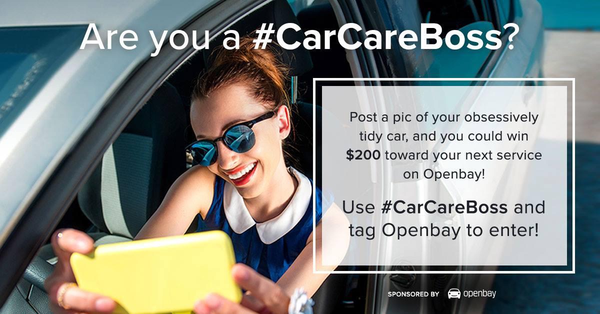#CarCareBoss - Selfie Girl
