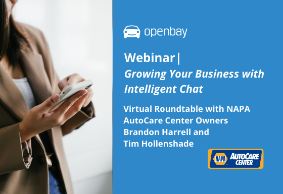 Openbay and NAPA AutoCare Center Member Virtual Roundtable
